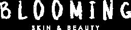 Blooming Logo Wit