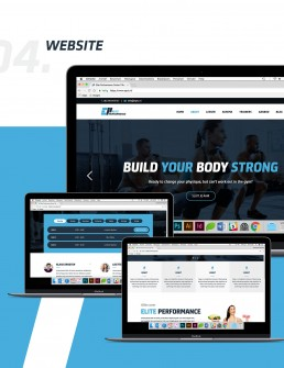 Elite Performance Website